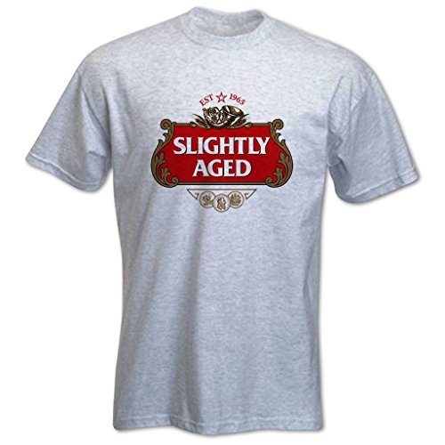 Bang Tidy Clothing Men'S Slightly Aged 1965 50Th Birthday T-Shirt X-Large Grey