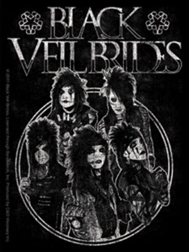 Licenses Products Black Veil Brides Circle Sticker