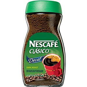 Nescafe Clasico Decaf, 7 Ounce Jar