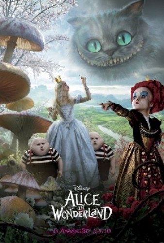 Alice In Wonderland 27X40 Double-Sided Adv Cheshire Cat Johnny Depp Mia Wasikowska Anne Hathaway Poster double sided prototyping pcb universal board 6 x 8cm 5 pcs