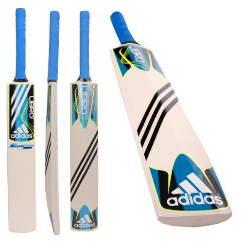 Adidas Libro Club Junior Kashmir Willow Cricket Bat (L18288) rrp£30 All Sizes