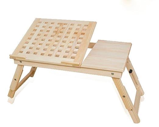 uzi-lazy persone benessere Elegante Tavolino pieghevole in legno massello per Laptop, Dorm termica Lift a casa tavolo con cassetto b