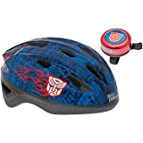Transformers Childs Bike/Cycle Helmet and Bike Bell Ages 5+