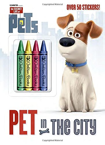 Pet in the City (Secret Life of Pets) (Color Plus Crayons and Sticker) (Color Life compare prices)