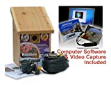 Garden Bird Nest Box and Camera with PC/Computer Connection and Software