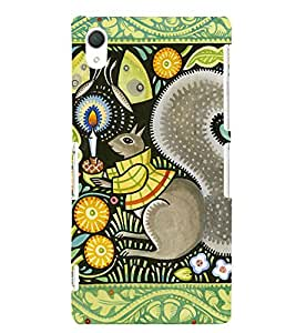 GADGET LOOKS PRINTED BACK COVER FOR SONY XPERIA Z2 MULTICOLOR