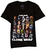 Star Wars Little Boys' Star Wars T-Shirt,Black,5/6