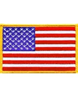 Patch Ecusson Brodé US Army Classic - Thermocollant - Bras Gauche - USA Flag - Airsoft - Paintball - Outdoor