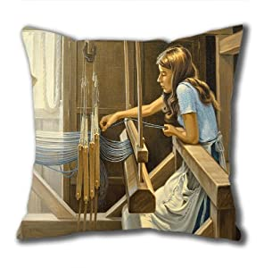 Illustration Painting Buck Stops Here Standard Size Design Square Pillowcase/Cotton Pillowcase with Invisible Zipper in 40*40CM 16*16(527)-527012 from Square Pillowcase