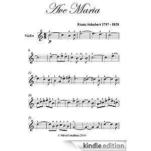 ave maria schubert violin sheet music pdf