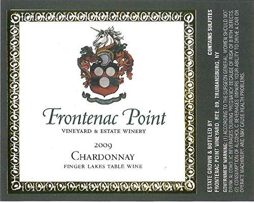 2009 Frontenac Point Vineyard Finger Lakes Estate Chardonnay 750 Ml
