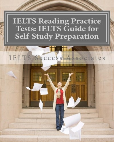 Ielts Reading Practice Tests: Ielts Guide For Self-Study Test Preparation For Ielts For Academic Purposes front-185359