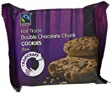 Traidcraft Fairtrade Double Chocolate Chunk Cookies 44 g (Pack of 24)