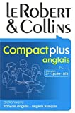 img - for Le Robert & Collins Compact plus anglais : Dictionnaire fran ais-anglais et anglais-fran ais book / textbook / text book