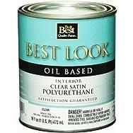 - W54F00706-13 Best Look Polyurethane-INT SATIN POLYURETHANE