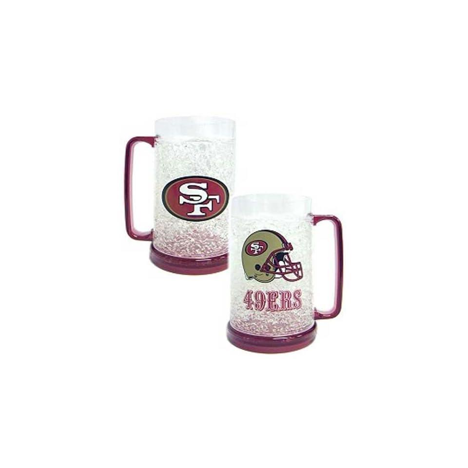 San Francisco NFL 49ers NFL Crystal Freezer Mug
