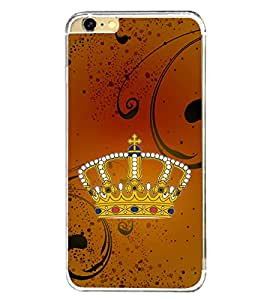 Crown 2D Hard Polycarbonate Designer Back Case Cover for Apple iPhone 6s Plus :: Apple iPhone 6s+