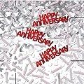Amscan International 40-inch 40th Happy Anniversary Confetti Metallic