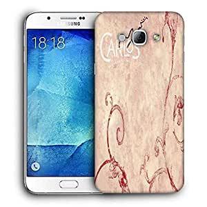 Snoogg Carlos Printed Protective Phone Back Case Cover For Samsung Galaxy Note 5