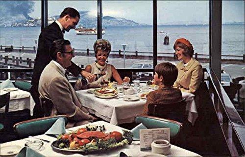 The Franciscan Restaurant San Francisco, Ca Original Vintage Postcard
