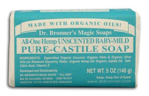 Dr Bronner Hemp Baby-Mild Castile Soap Organic (Pack of 3)