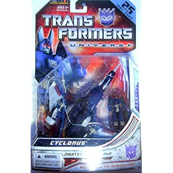 TRANSFORMERS – UNIVERSE – GENERATION 1 SERIES – 25 JAHRE EDITION – Deluxe Class – LEVEL 3 – Decepticon – CYCLONUS – OVP als Geschenk
