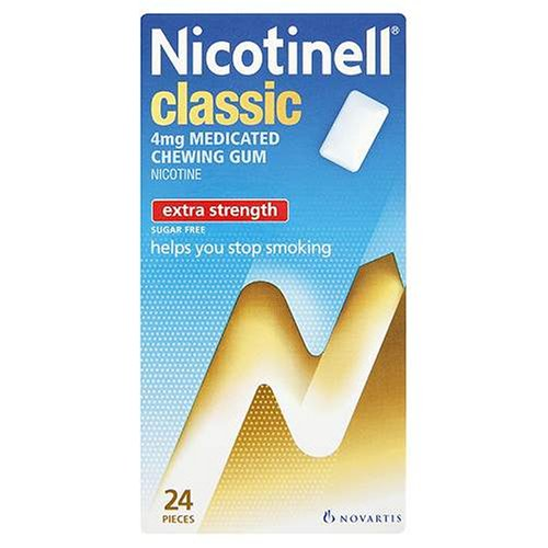 Nicotinell Chewing Gum 4mg Classic - 24 Pieces