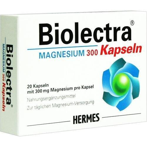 Biolectra Magnesium 300 Kapseln, 20 St