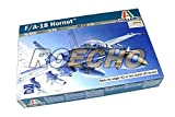 RCECHO® ITALERI Aircraft Model 1/72 F/A-18 Hornet Scale Hobby 016 T0016 with RCECHO® Full Version Apps Edition