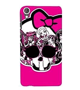 EPICCASE evil girls case Mobile Back Case Cover For HTC Desire 820 (Designer Case)