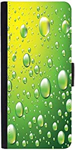 Snoogg Dew Drops Vector Background Designer Protective Phone Flip Case Cover For Coolpad Note 3