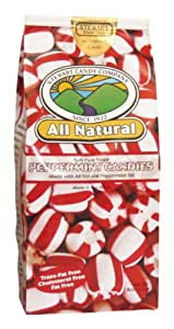 Stewart Candy All Natural Soft Peppermint Candy for Office Breakrooms, 8 Ounce Bag  (AUA10315)