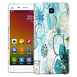 Theskinmantra Flowers shade Back Cover for Xiaomi MI 4