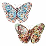 mariposas art deco para paredes