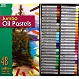 48 Jumbo Size OIL Pastels for Drawing & Art