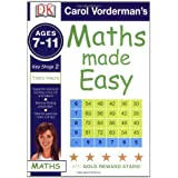 Maths Made Easy Times Tables Ages 7-11 Key Stage 2 (Carol Vorderman's Maths Made Easy)by Carol Vorderman