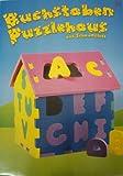 Letra Casa de puzzle de espuma 32x 28x 33cm ISH 10027088