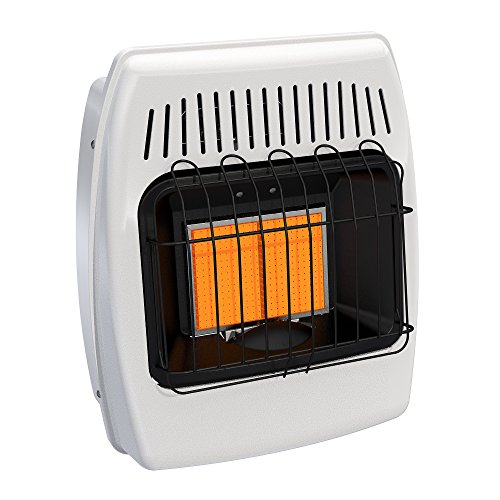 Dyna-Glo IR12PMDG-1 12,000 BTU Liquid Propane Infrared Vent Free Wall Heater (Ready Heat Propane Heater compare prices)