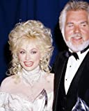 Dolly Parton Kenny Rogers 8x10 Promotional Photograph candid together