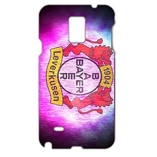 Bayer 04 Leverkusen Fu?ball GmbH Phone Case Colourful 3D Phone Shell snap on Samsung Galaxy Note 4with Team Logo