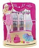 Barbie - In The Pink Shoes - Ballet Studio - Poupée Ballerine 30 cm et Scène (Import Royaume-Uni)