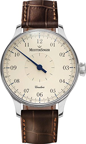 MeisterSinger Circularis CC103 Reloj con sólo una aguja Calibre de Manufactura