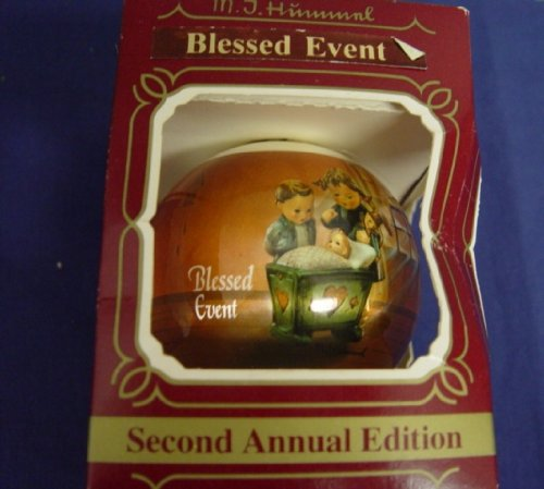 "M. J. Hummel Christmas Ornament 1983 ""Blessed Event"""