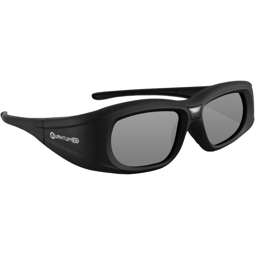 Compatible Epson ELPGS03 3D Glasses by Quantum 3D (G5) compatible epson g5 universal 3d glasses by quantum 3d