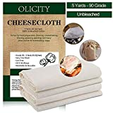 Cheesecloth, Grade 90, 100% Unbleached