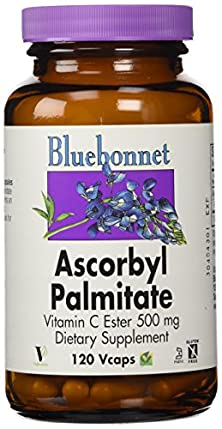 buy Bluebonnet Ascorbyl Palimitate 500 Mg Vegetable Capsules, 120 Count