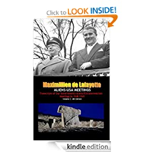 ALIENS-USA MEETINGS: Transcripts of Our Governments-Aliens/Extraterrestrials Meetings in 1948-1949. Vol.2 4th Edition (Extraterrestrials Transcripts)