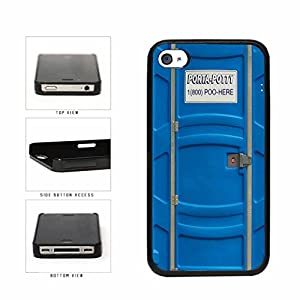 Amazon.com: Funny Porta Potty Plastic Phone Case Back Cover Apple
