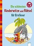 Die schönsten Kinderwitze und Rätsel für Erstleser: Der Bücherbär: Kleine
