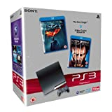 Sony PlayStation 3 Slim Console (250GB Model) with Blu-ray Movie Bundleby Sony